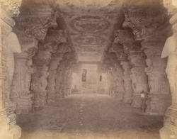 Part of a colonnade in the Ramalingeshvara Temple, Rameswaram 10032350
